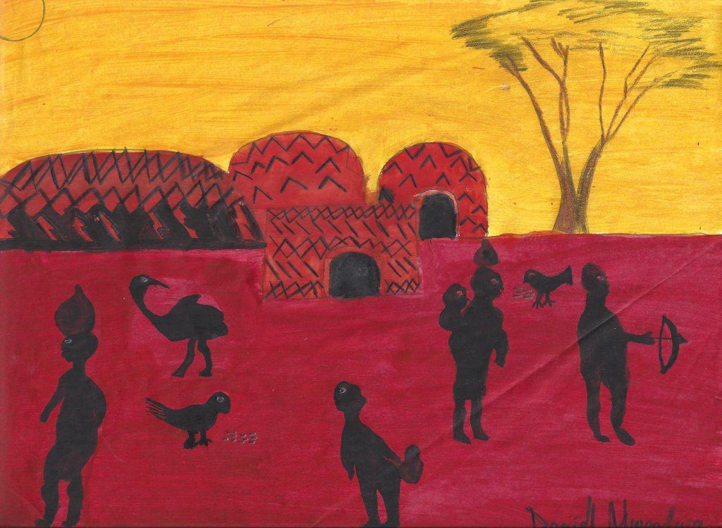Gallery showing of Nyumbani artwork Aug. 6th-7th
