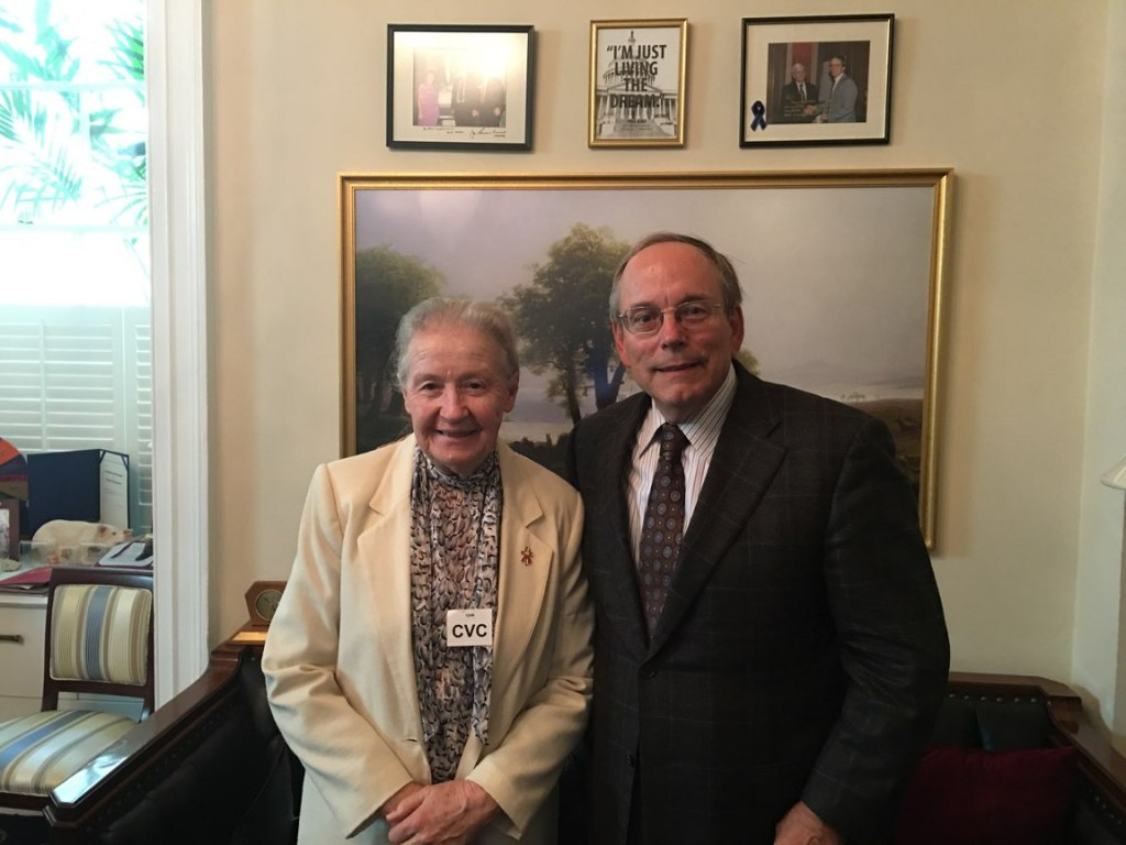Sister Mary's Visit to Capitol Hill