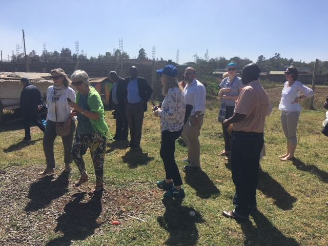 Today, members of the Nyumbani local and International Boards toured Karen Farm.