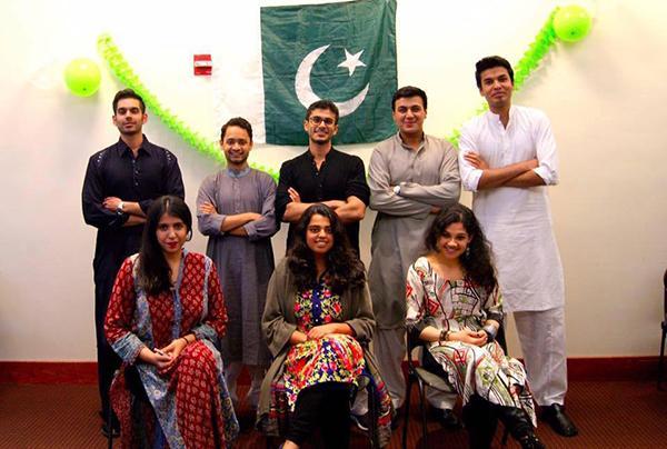 NYU Pakistani Club 2015-2016 executive board.
