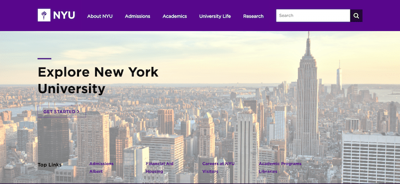 NYU's Website Is Now Device-Agnostic | Daily Website Traffic