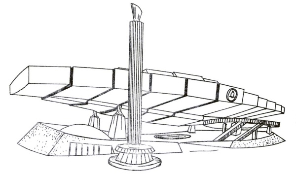 Bell System Line Drawing