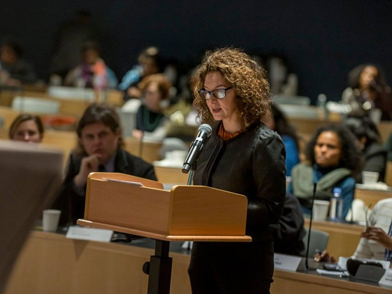 With Momentum from #MeToo, NYC Human Rights Commission Holds Hearing on Workplace Sexual Harassment (The Ink)