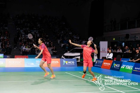 Cao / Yu - Evan Xiao for Badminton NZ