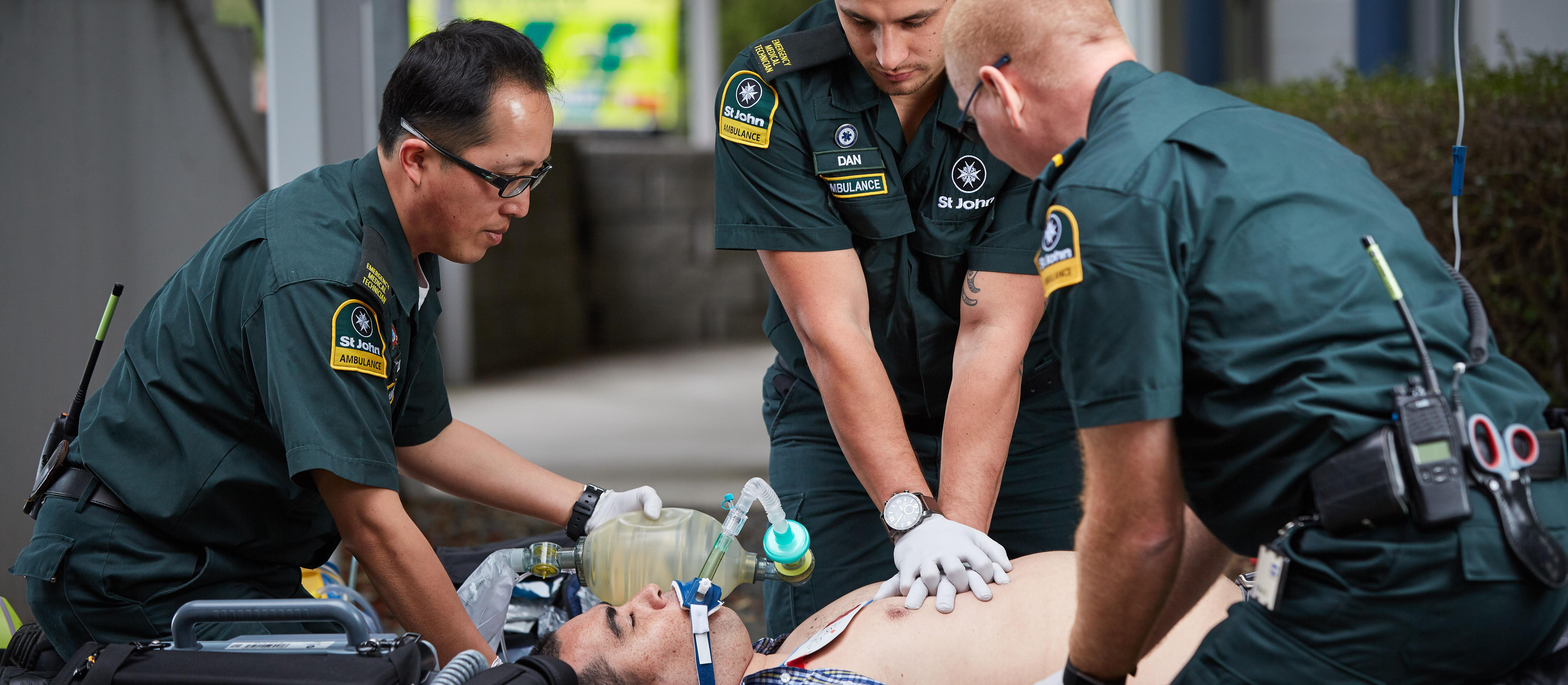 St John paramedics 2019