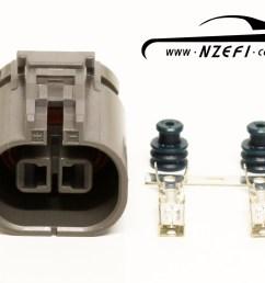 2 pin nissan fuel pump cradle connector r32 gtr r33 s14 [ 1600 x 1166 Pixel ]