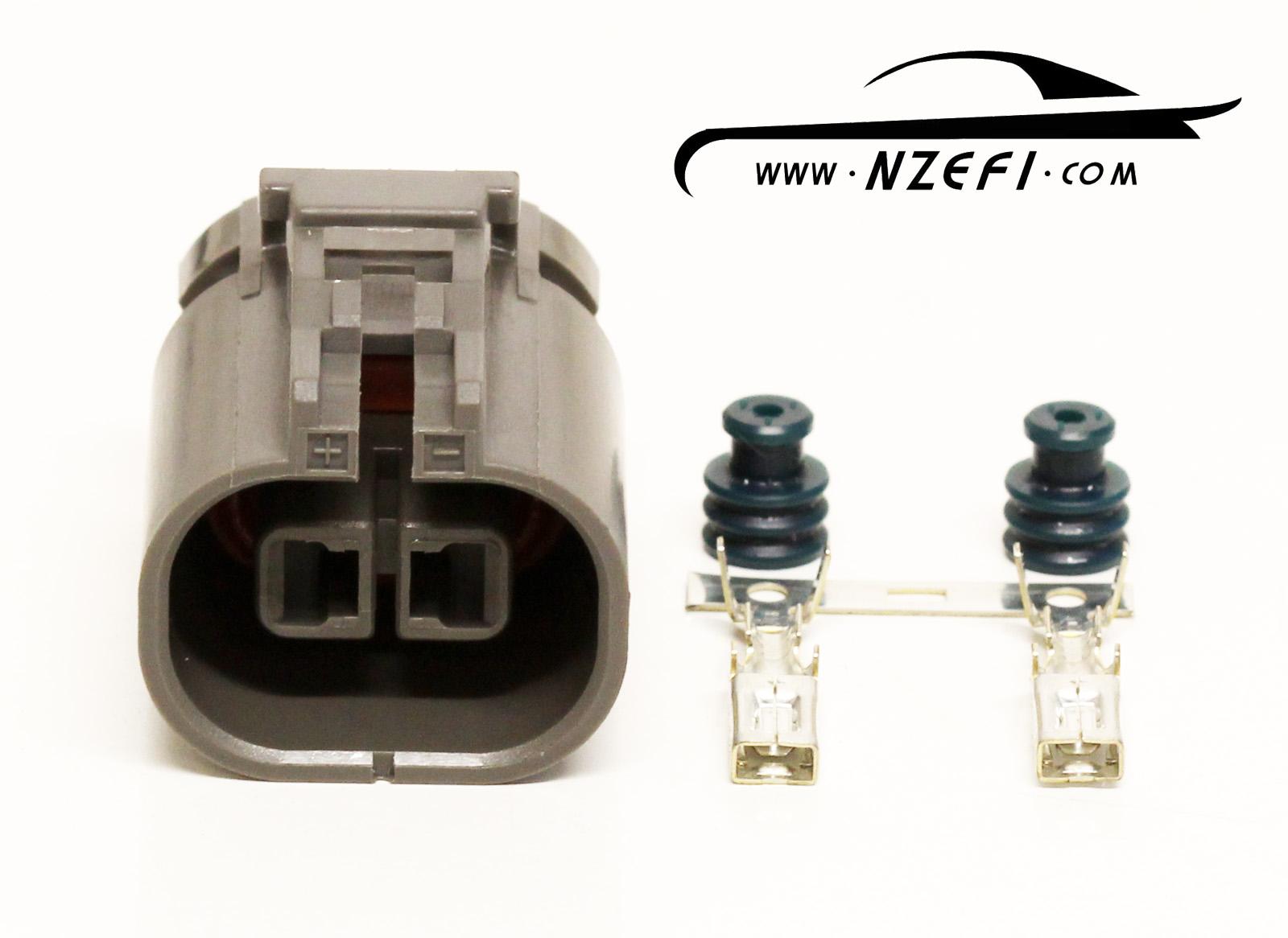 hight resolution of 2 pin nissan s13 sr20det knock sensor sub harness connector engine loom side
