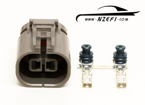 small resolution of 2 pin nissan s13 sr20det knock sensor sub harness connector engine loom side