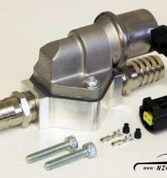 2 wire idle speed solenoid kit with remote mount and straight barb fittings 2 [ 1600 x 1155 Pixel ]