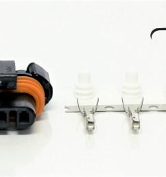 gm gen 3 alternator connector [ 1800 x 848 Pixel ]