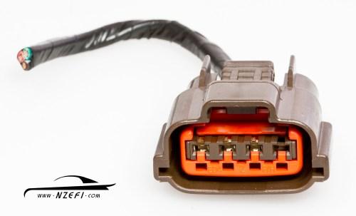 small resolution of  nissan s14 s15 sr20det 4 pin air flow meter afm connector nissan s14 s15 sr20det