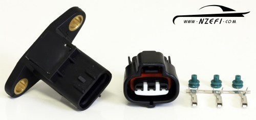 small resolution of omni 4 bar map sensor with connector