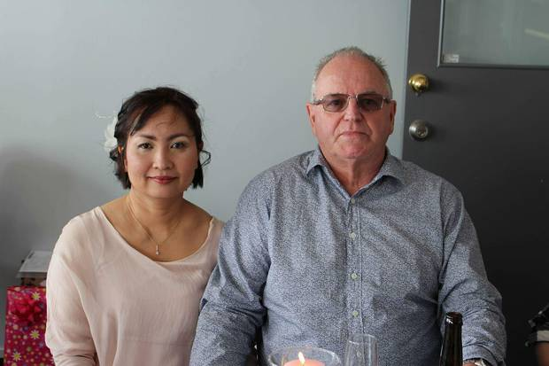 Thai massage therapist Sabaitong Prachantasen didn't get paid what she was promised for work in NZ and couldn't get a visa to remain here with her Kiwi husband Daniel Gray. Photo/ Supplied
