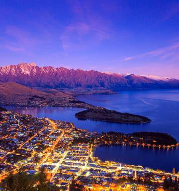 Air New Zealand Trials Downtown Queenstown Bag Check In With