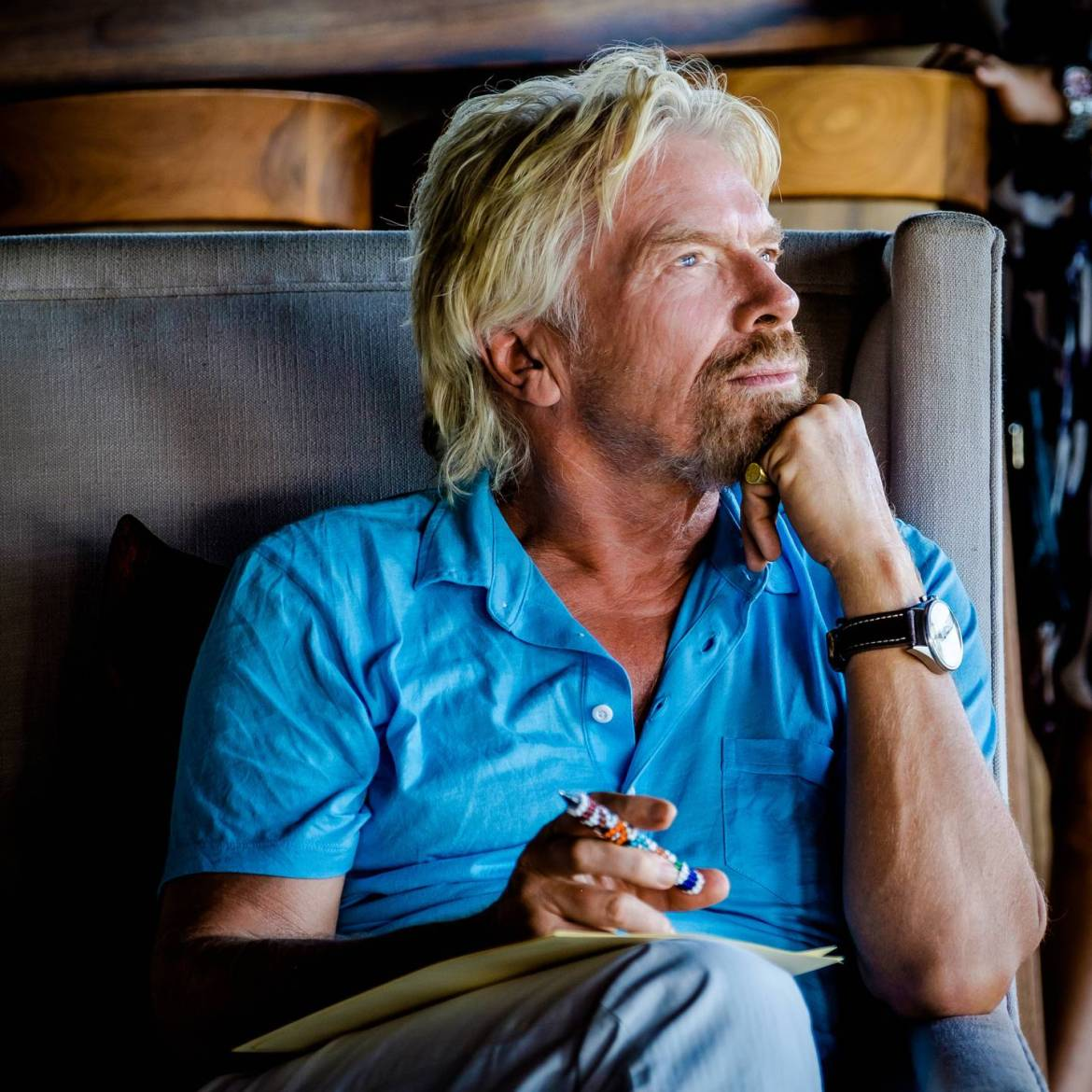 Billionaire, Richard Branson, who suffers from dyslexia himself, beleives it is a superpower that needs to be embraced and supported in schools. Photo / supplied