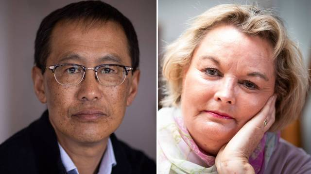 Baden Ngan Kee (left) is not being funded for his lung cancer treatment, but Pamela Jones (right) is being funded for her melanoma treatment. Photos / Dean Purcell, Jason Oxenham