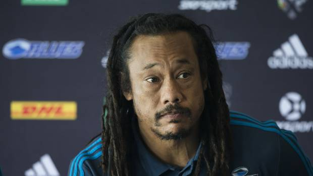 Blues coach Tana Umaga. Photo / Brett Phibbs.