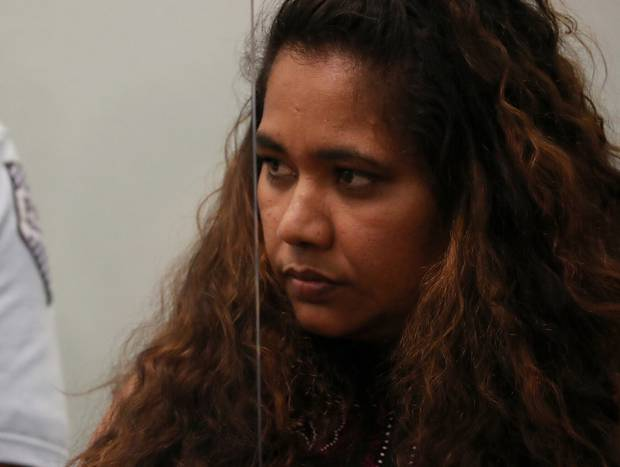 Kasmeer Lata, the teen's mother, was sentenced today in the High Court at Auckland. Photo / Jason Oxenham