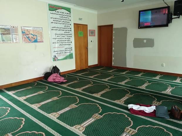 El interior de la mezquita de Al Noor en Hagley Park. Foto / Suministrado