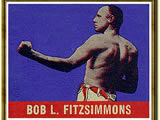 Bob Fitzsimmons wins world middleweight boxing title