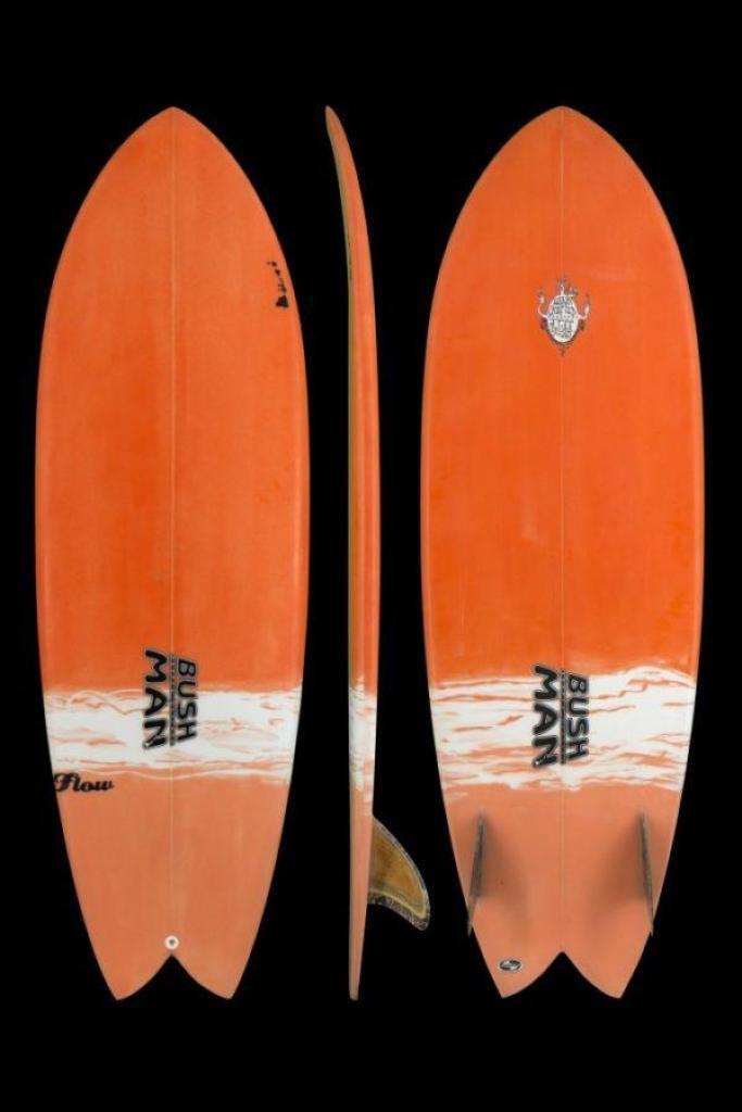 ブッシュマンサーフボードの『FLOW』