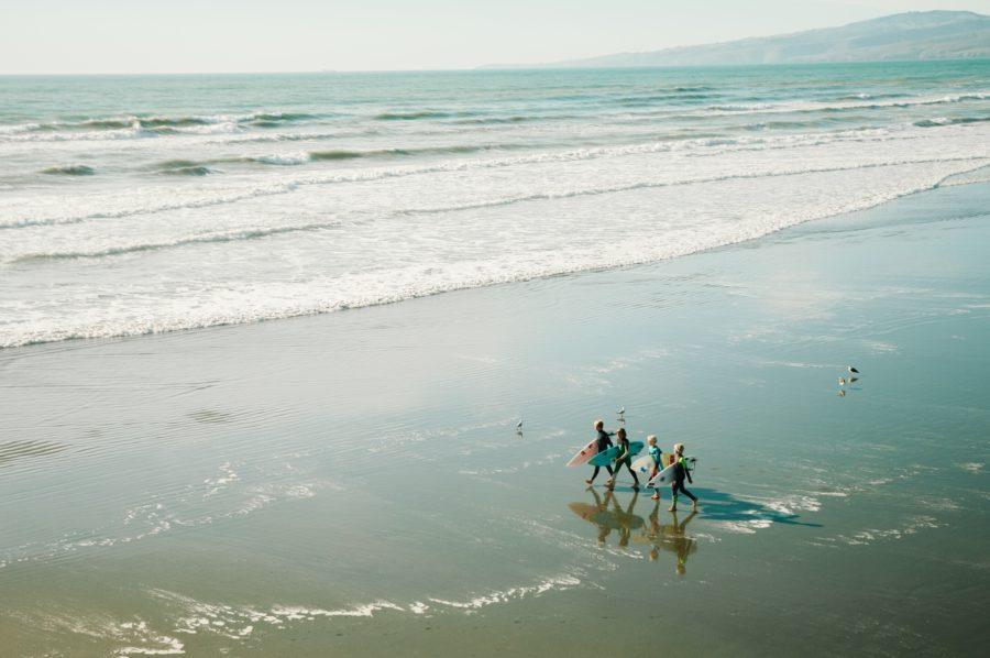 サーフィンの新時代を作る若い世代