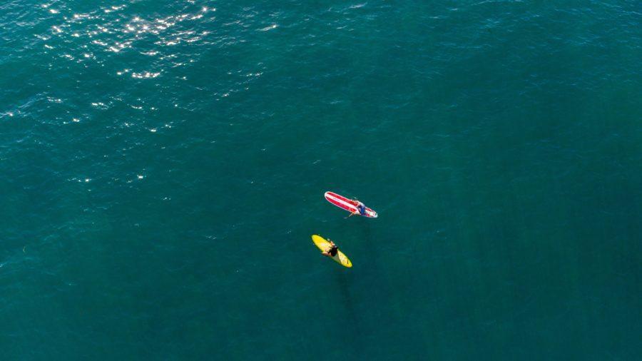 サーフボードに浮力が有っても、長さのバランスが悪ければ遅くなる