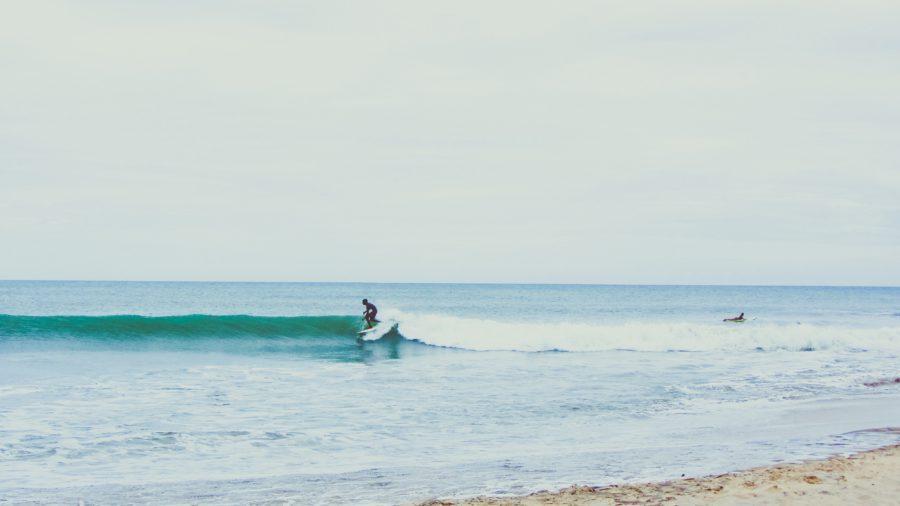 小波に適したサーフボードを選ぶことが大事