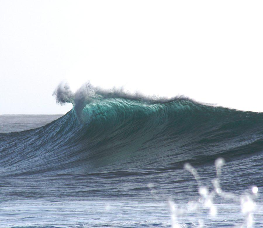 波のサイズが上がるとサーフボードが真っ二つになる確率が上がる