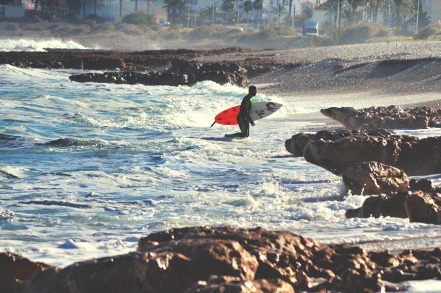 危険を感じたらサーフィンを諦める