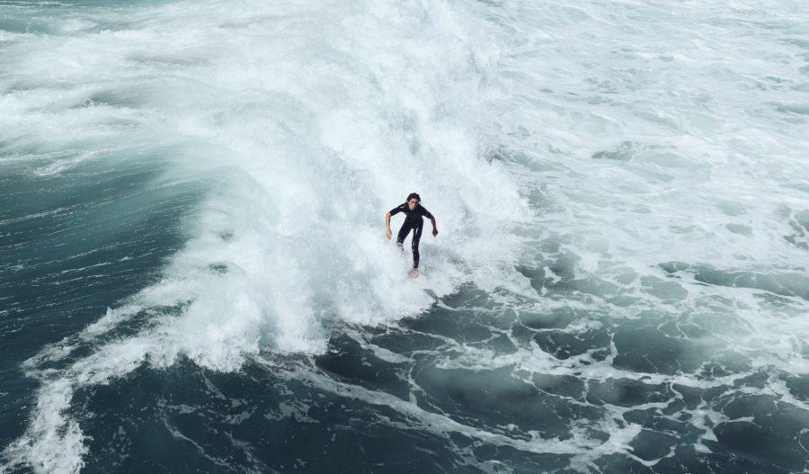 前足荷重でスピードがつけばトロイ波も抜けていける