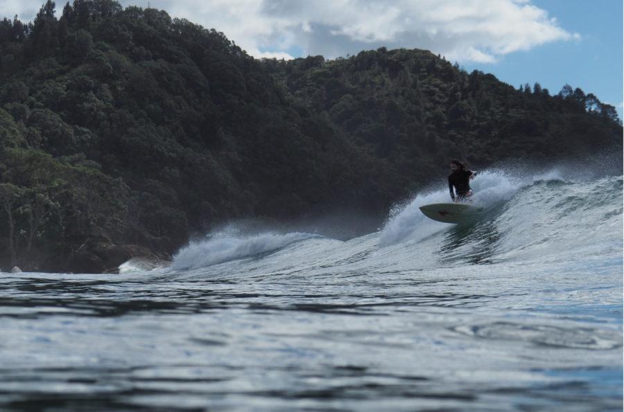 カレントが強い場所での水中撮影