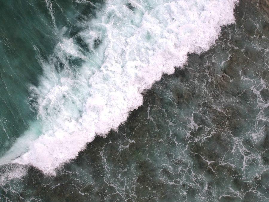 ダックダイブ に失敗すると波の衝撃を受ける