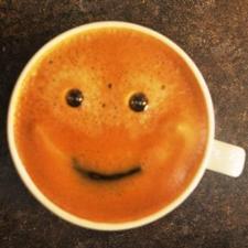 Mmmm... the coffee was good.