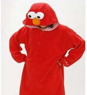 adult elmo onesie