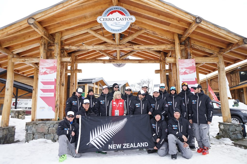 The whole NZ Team at the last Interski event in Argentina 2015