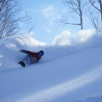 """The Stoke, The Passion""... The infamous Japanese powder, photo by Keith Stubbs."