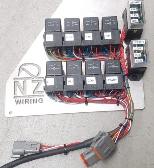 small resolution of ac wiring harnes conversion with ls1