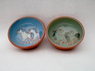 keramik med dyr