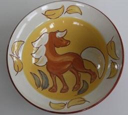 keramik med heste