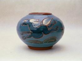 Vase med hestemotiv