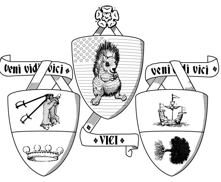 Veni vidi vici (crest II sketch)