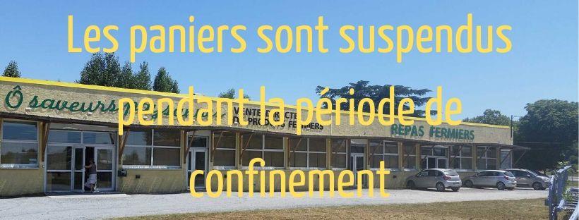 Paniers suspendus
