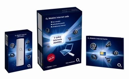 O2 Předplacený mobilní internet