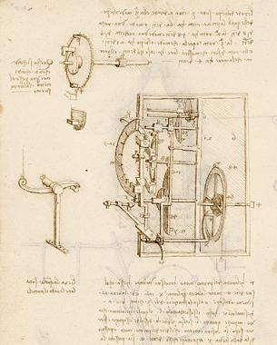 Leonardo Da Vinci, Códices Madrid I y II © BNE, O2 Magazine blog