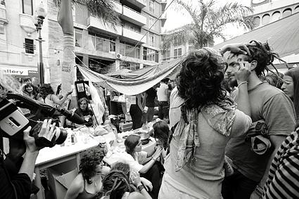 Movimiento 15M de © Jordi Verdés Padrón para O2 Magazine