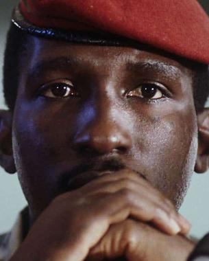 Thomas Sankara, el Che Guevara del continente africano.