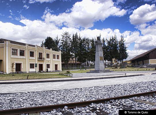 Estación de Ferrocarril Chimbacalle © Turismo de Quito
