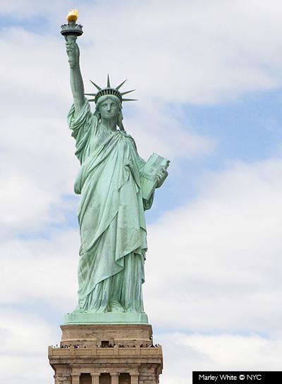 Estatua de la libertad © Marley White/NYC