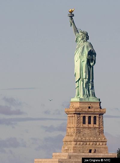 Estatua de la libertad © Joe Cingrana/NYC